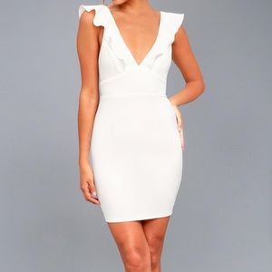 LULU'S - good life sleeveless bodycon (size small)